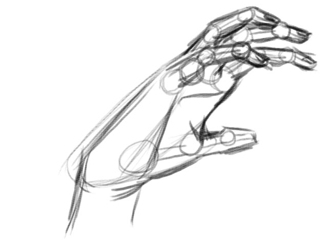 Image result for hand figure to start drawing